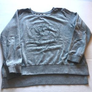 """Zoe & Liv"" sweater with design (XL)"